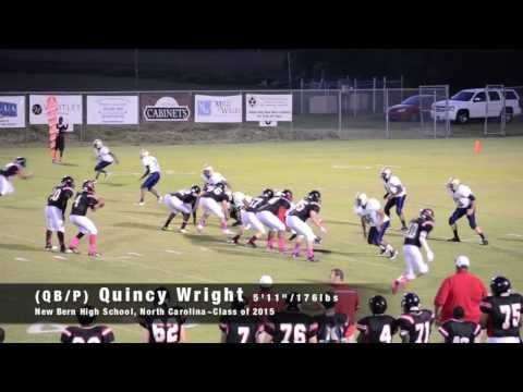 Quincy Wright 2013 Highlight Film