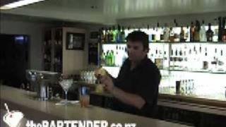 The Rosebud Cocktail, Soho, Gisborne, New Zealand