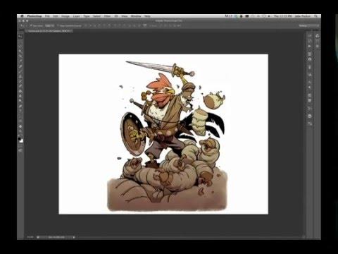 Как рисовать на компьютере - Jake Parker