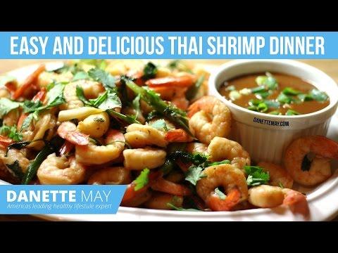 Easy And Delicious Thai Shrimp Dinner
