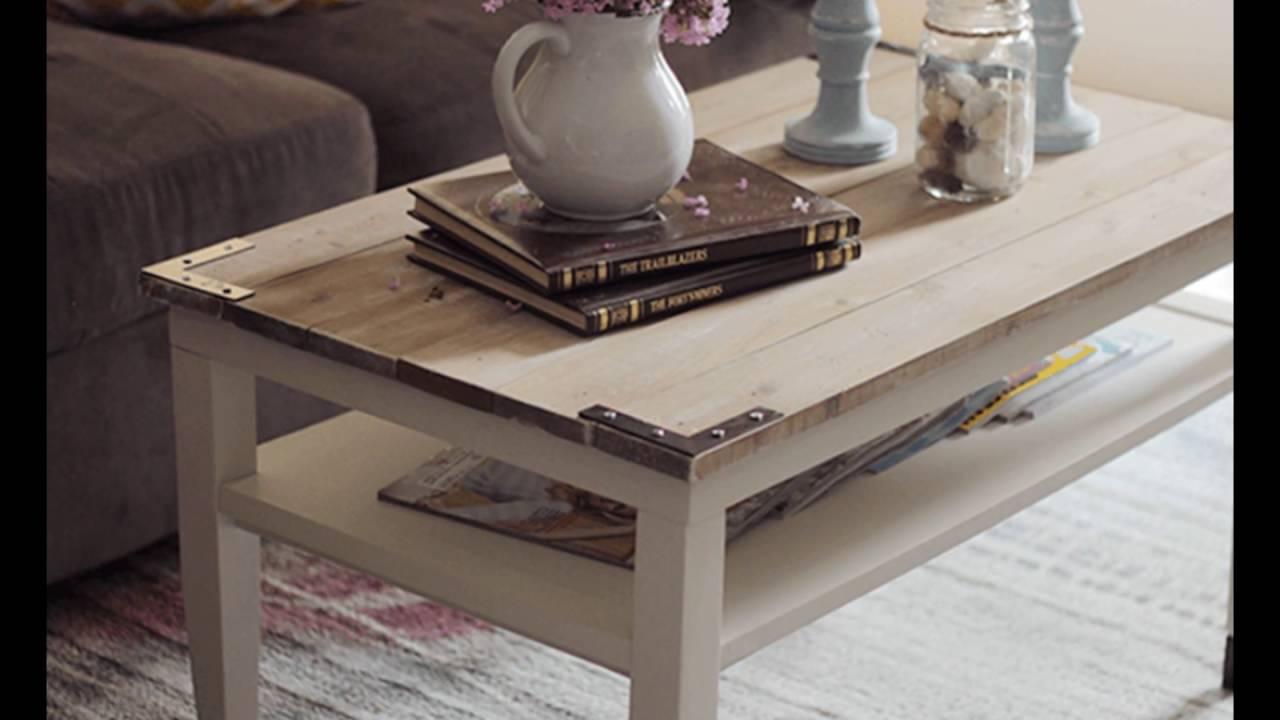 Farmhouse style coffee table youtube farmhouse style coffee table geotapseo Choice Image