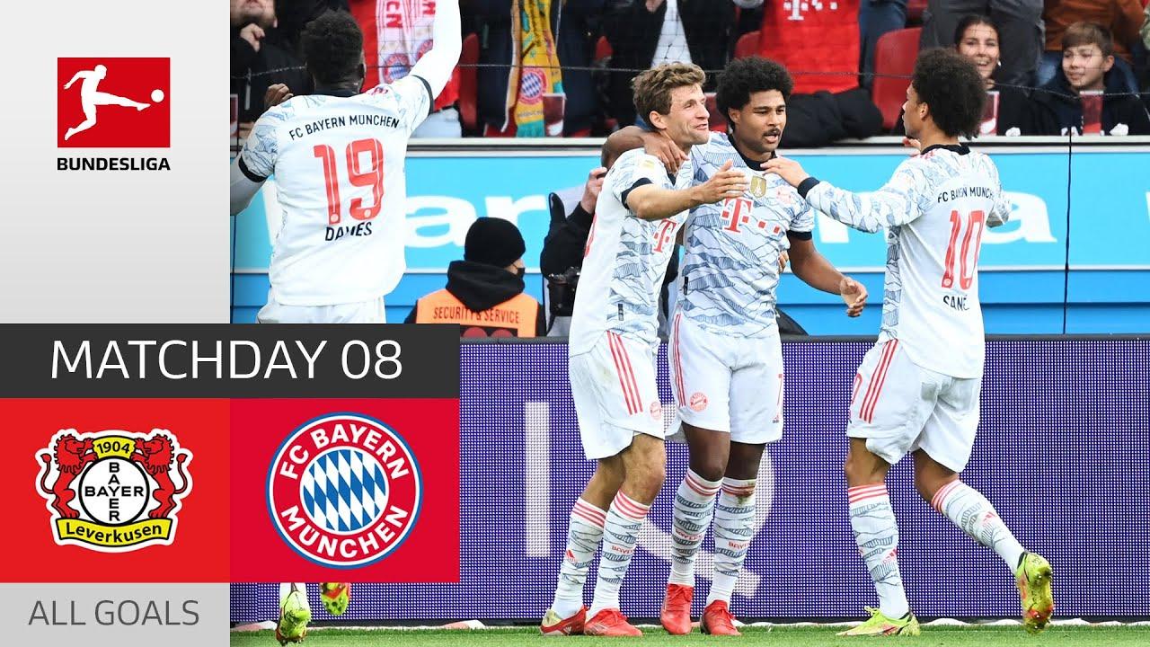 Download Lewandowski and Gnabry with a double!   Bayer 04 Leverkusen - FC Bayern München 1-5   Highlights