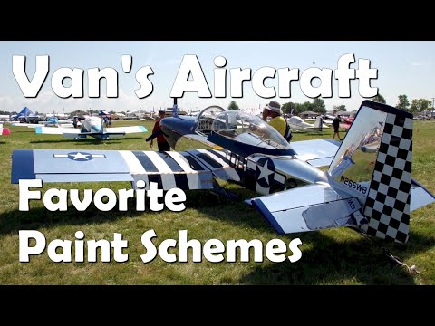 Paint Schemes for Van's RV Aircraft - Part 1
