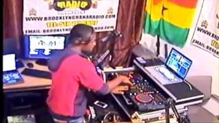 Ghana Hiplife Mix - Azonto mix..Dj Prince on Brooklyn  Ghana Radio..