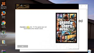 Gta 5 error 15: the game was not lauched via steam solved (with proof 1000% works)
