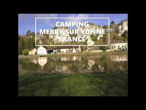 Caravan Life Nro 94 Camping Merry Sur Yonne Ranska