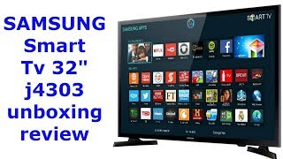 "Samsung smart TV 32"" Unboxing review"