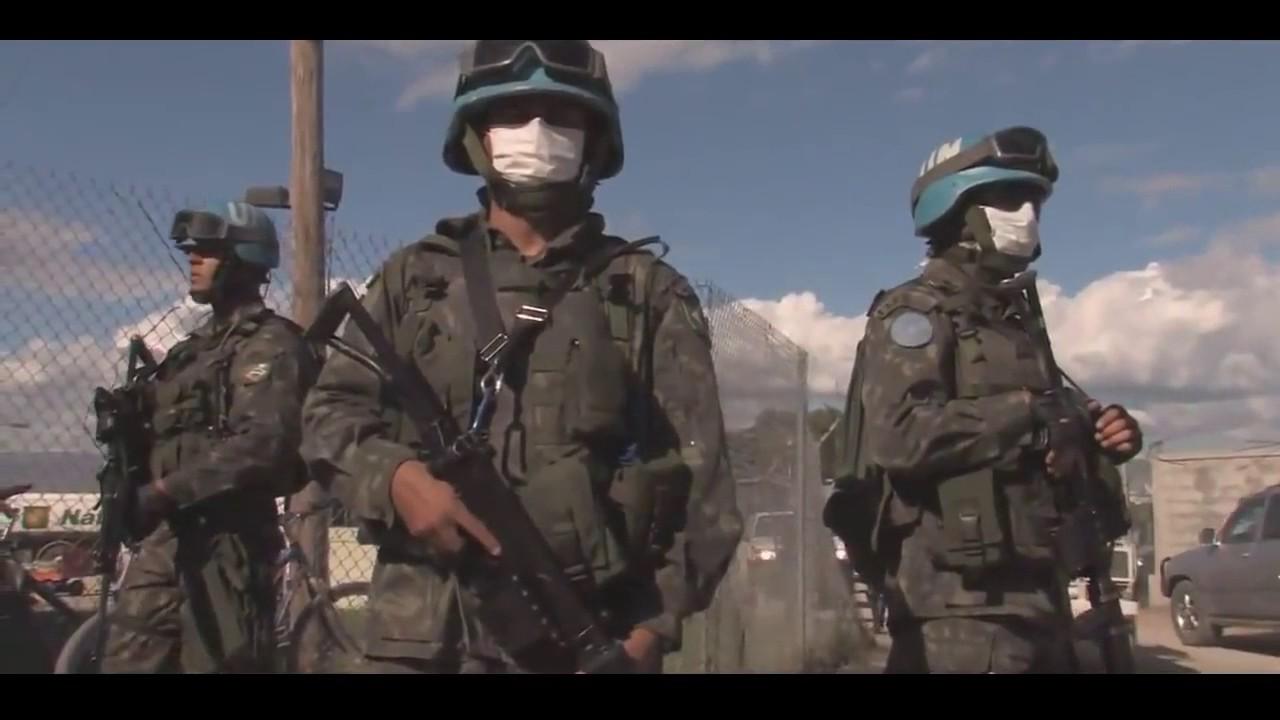 Exército Brasileiro. Em ação no Haiti ONU - YouTube 241a569b311