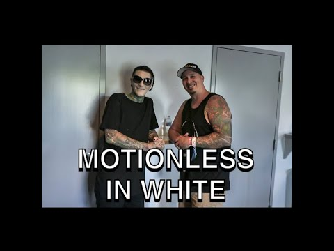 Motionless In White on Unpeeled