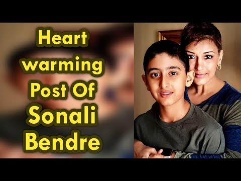 Sonali Bendre shares heartwarming post on son Ranveer Behl`s birthday