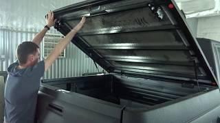 10 УАЗ ПИКАП Алюминиевая крышка кузова АВС-Дизайн
