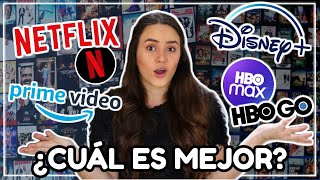 ¿CUÁL ES MEJOR? 👍🏼 Netflix vs. Disney Plus vs. Prime Video vs. HBO Max | ANDRU★