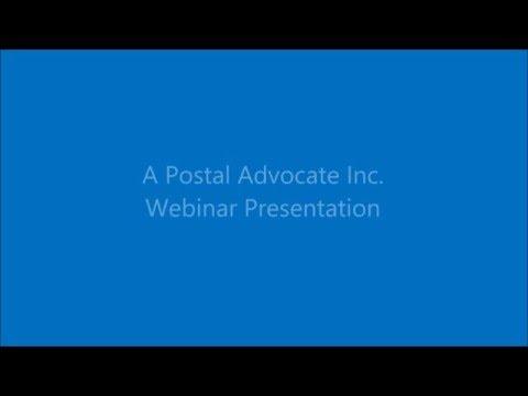April 2016 USPS Rate Change Presentation Video