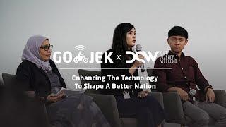 "GO-JEK x DSW ""Enhancing The Technology To Shape A Better Nation"" - Crystal Widjadja"