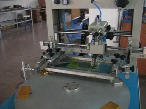 HK H200P Rotary Pneumatic Phone Cover Printing Heat Press ...
