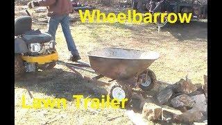 Wheelbarrow Lawn Trailer
