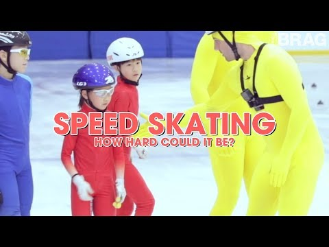 Speed Skating - How Hard Could It Be?