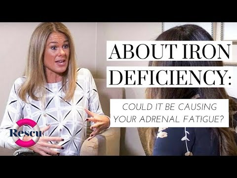 Health Talk: Could Iron Deficiency Could Be Linked To Adrenal Fatigue?