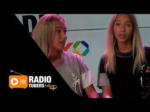 Lisa y Lena enseñan a Uri y Herrejón todo sobre musical.ly