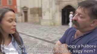 Gábor Lali a migránsokról Kolozsvár utcáin (II rész)