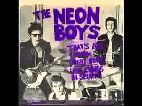 The Neon Boys - High Heeled Wheels