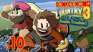 Donkey Kong Country 3 | Let's Play Ep. 10 | Super Beard Bros.