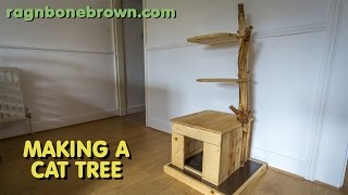 Making A Cat Tree (part 1)