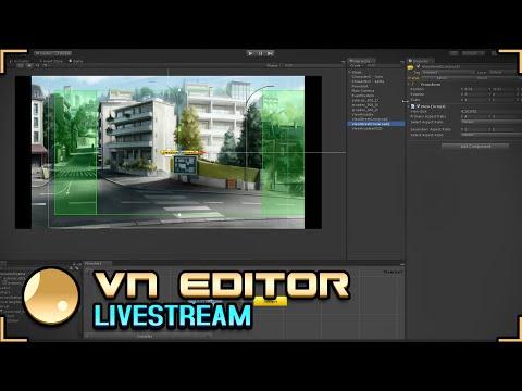 LyokoVN Editor - 1rst Livestream