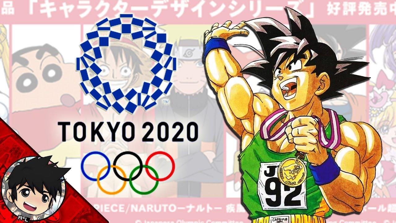 Goku La Nueva Figura De Los Juegos Olimpicos De Tokyo 2020 Falso