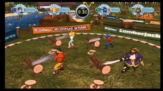 Go Play Lumberjacks Wii Gameplay Part 2