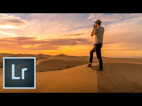 Understand Composition: Imperial Dunes Lightroom Tutorial