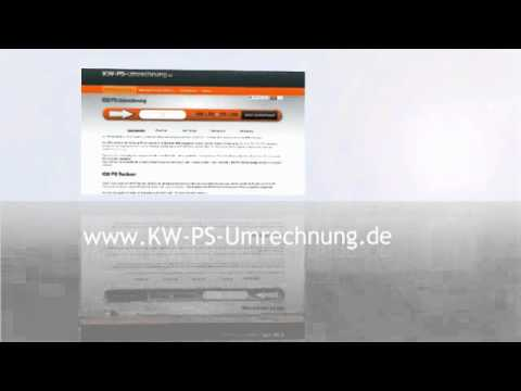 der kostenlose kw ps rechner youtube. Black Bedroom Furniture Sets. Home Design Ideas