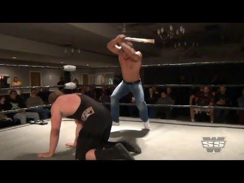 Hardcore Brawl between Vic Capri and Justice Jones - 10/27/13 - SSW