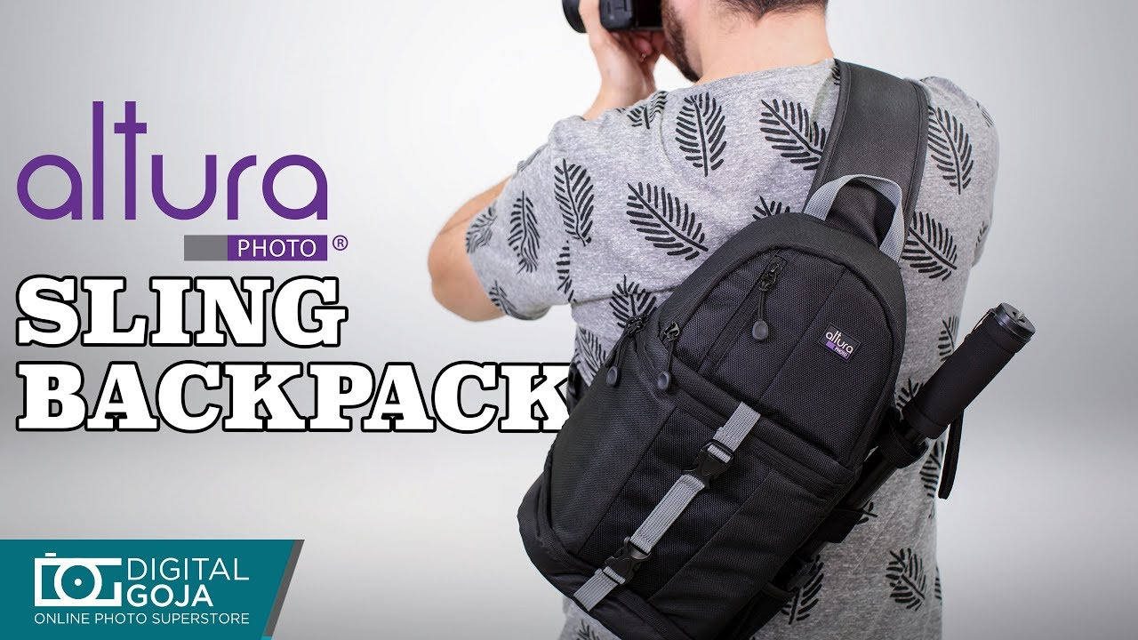 Altura Photo Camera Sling Backpack For Dslr Cameras Review Youtube