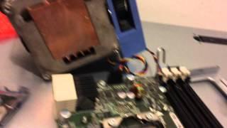 dell precision x5660 dual hex t5500 riser installation A