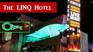 The LINQ Hotel & Casino, O'SHEAS Casino Tour..2017