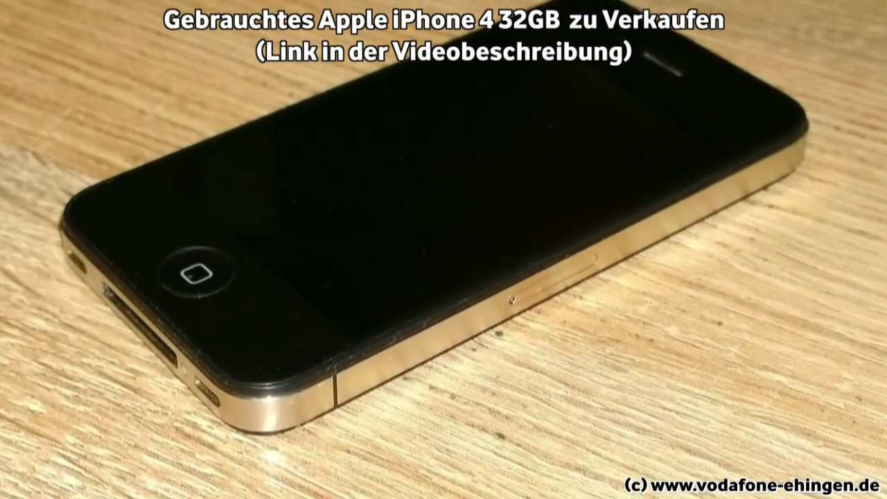 verkauft gebrauchtes apple iphone 4 32gb zu verkaufen. Black Bedroom Furniture Sets. Home Design Ideas