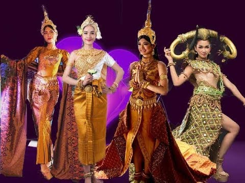 CAMBODIA National Costume Cloths Showing, Miss Global, Miss Universe,...2017