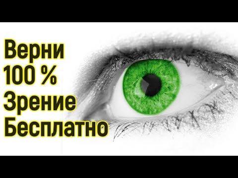 Как быстро поднять зрение
