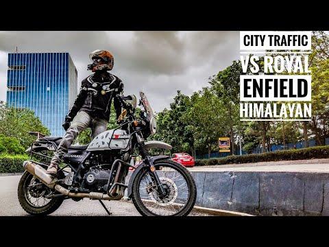 City Traffic vs Royal Enfield Himalayan