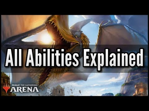 MTG Arena - All Abilities Explained