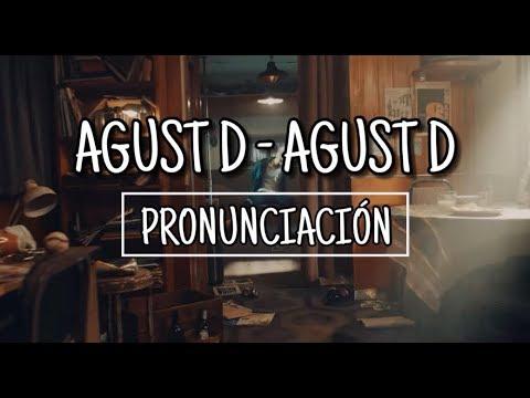Agust D - Agust D [Pronunciación] [Fácil]