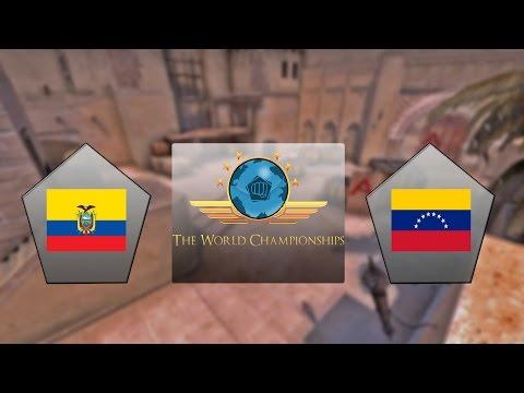E-Frag TWC - Equador vs. Venezuela (Mapa 1 - Mirage) - Qualificatório Sul-Americano