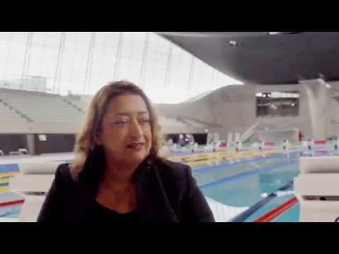 Zaha Hadid on the London Aquatics Centre
