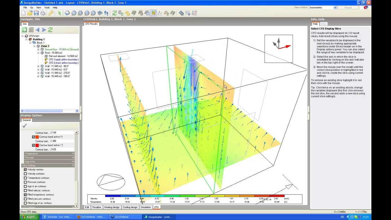 Designbuilder cfd for hvac design youtube for Find a builder