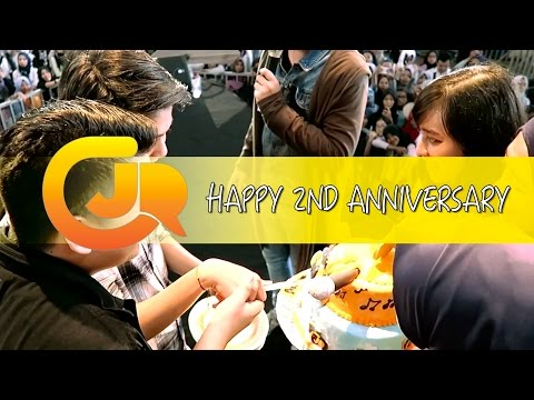 CJR - HAPPY 2ND ANNIVERSARY