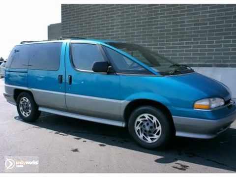1995 Chevrolet Lumina APV #BK11003 in Canton Ann MI Arbor,  YouTube