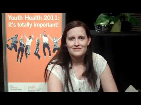 Young people's perspectives on youth health - ReachOut.com visits Youth Health 2011