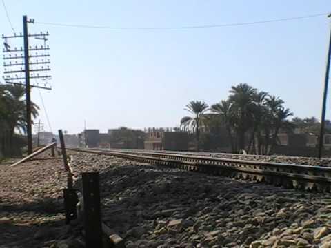 EGYPTIAN RAILWAY PASSENGER TRAIN.4.