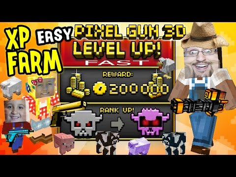 Pixel Gun 3D MONEY & XP Tip - Level Up Fast!!! (Farm Cheat, No Hacks Or Tricks) IOS App W/ Face Cam
